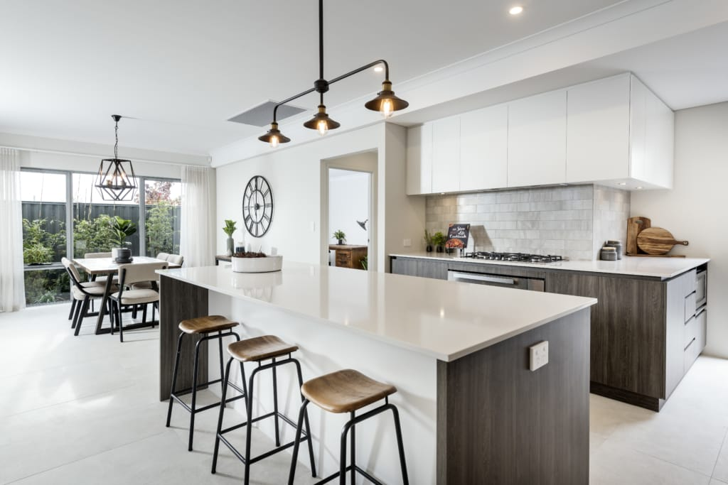 Modern Kitchen in white
